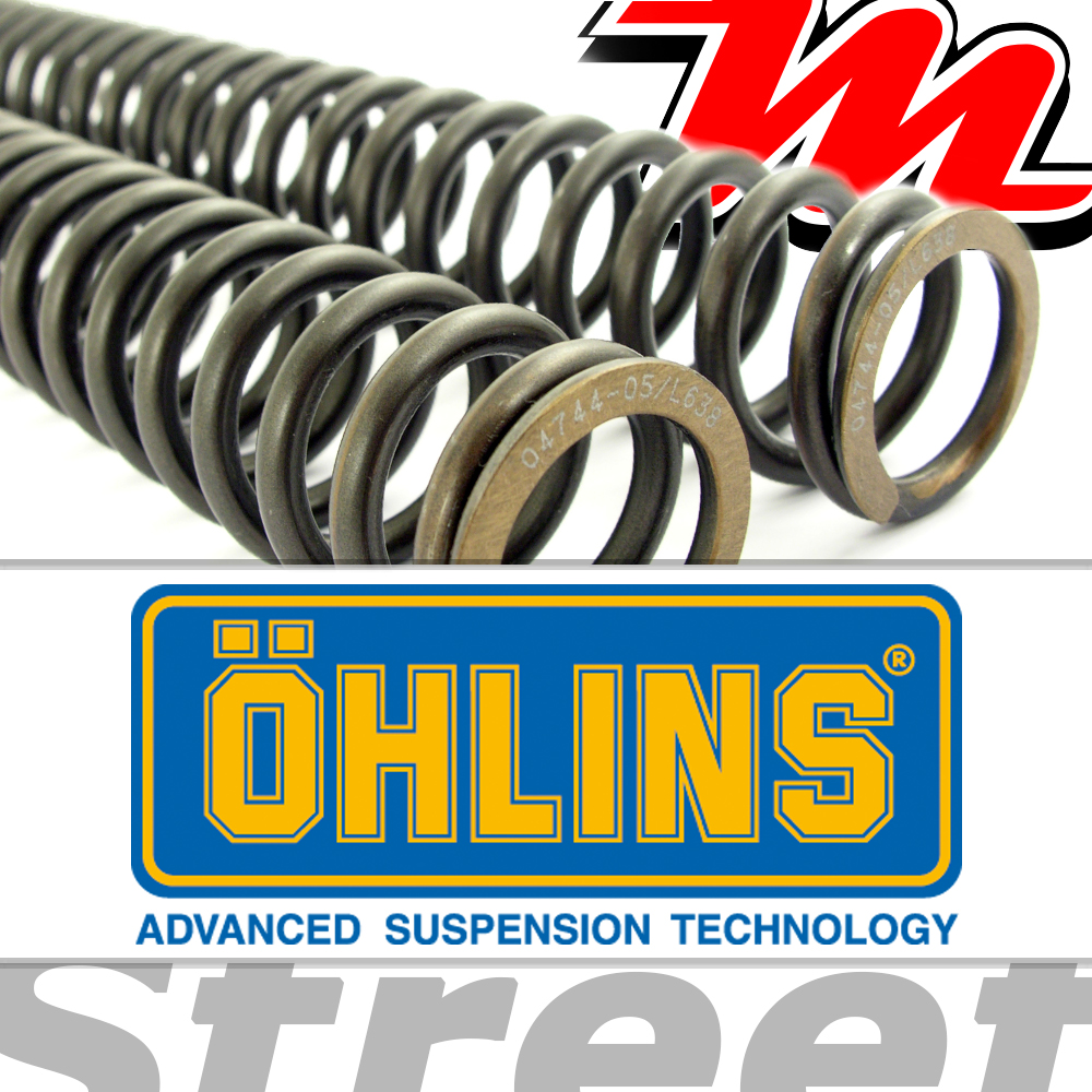 Ohlins Lineare Gabelfedern 6.0 (08791-60) YAMAHA T135 LC4V | eBay
