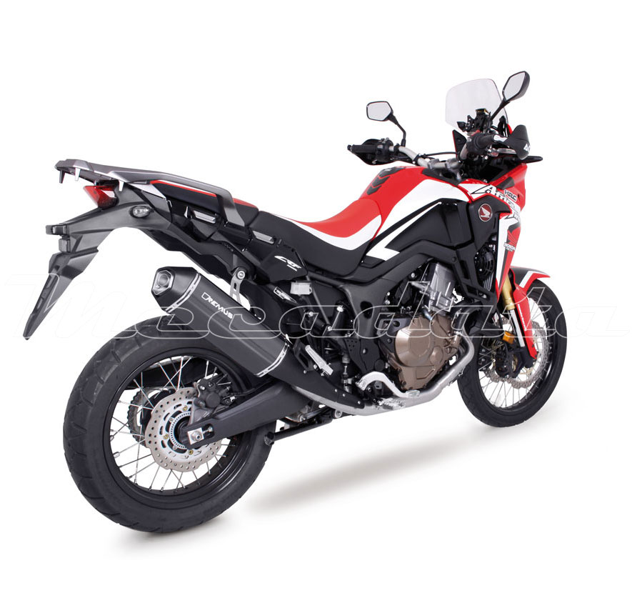 silencieux pot d 39 chappement honda crf 1000 l africa twin 2016 remus okami. Black Bedroom Furniture Sets. Home Design Ideas