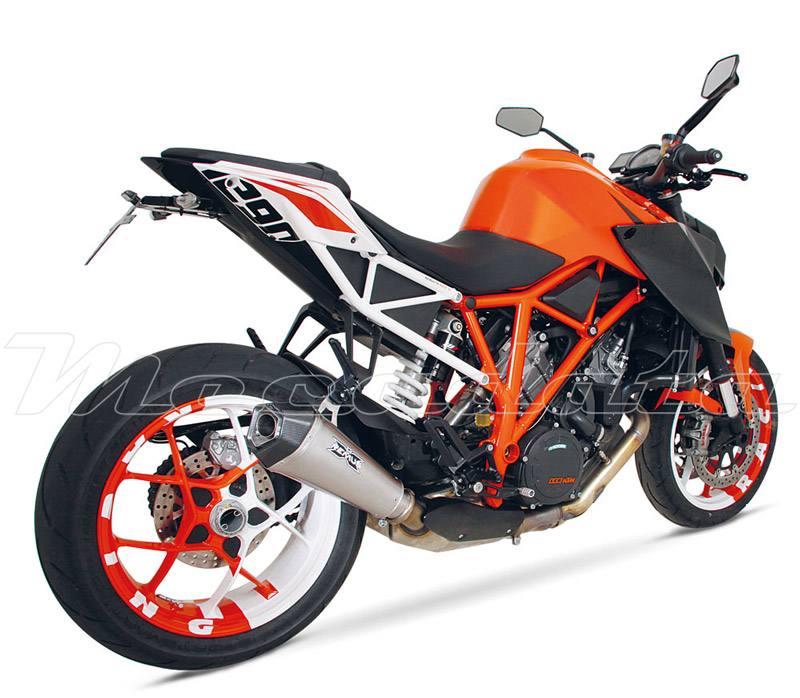 silencieux pot chappement remus hypercone ktm 1290 super duke r 2014. Black Bedroom Furniture Sets. Home Design Ideas